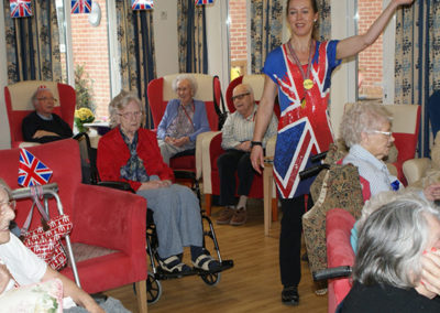 care home activities party