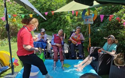 Making a splash this week at Hill House